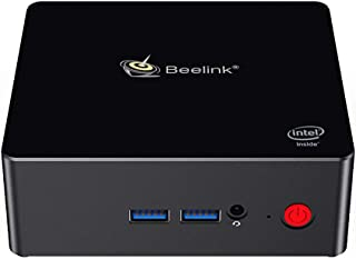 Mini PC, Beelink Gemini X55 Intel Pentium J5005 4M Cache, Up to2.8GHz,8G RAM 256G SSD, Windows 10 Mini Computer Support 4K 60FPS Play, Gigabit Ethernet, Dual-Band Wi-Fi, Bluetooth 4.0