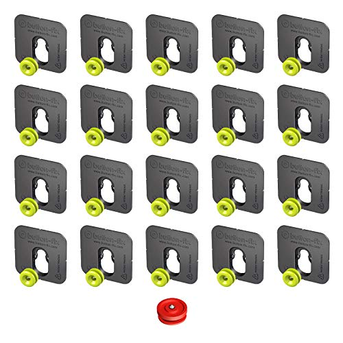 Button Fix Type 1 Bonded Bracket Marker Guide Kit x20 + 1 Marker Tool
