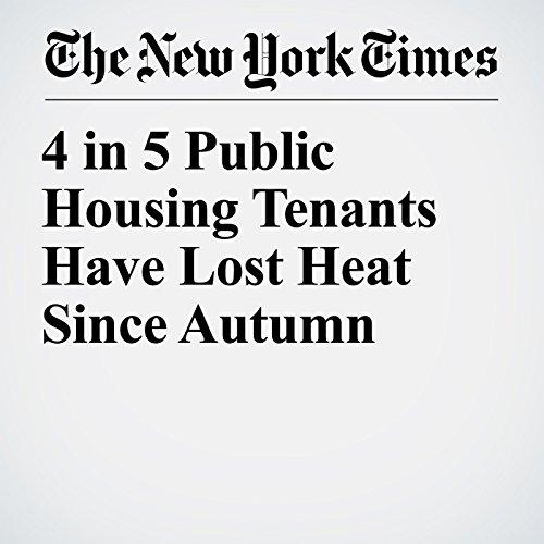 4 in 5 Public Housing Tenants Have Lost Heat Since Autumn copertina