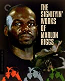 The Signifyin' Works of Marlon Riggs (The Criterion Collection) (Ethnic Notions/Tongues Untied/Affirmations/Anthem/Color Adjustment/Non, Je Ne Regrette Rien (No Regret)/Black Is . . . Black Ain't) [Blu-ray]