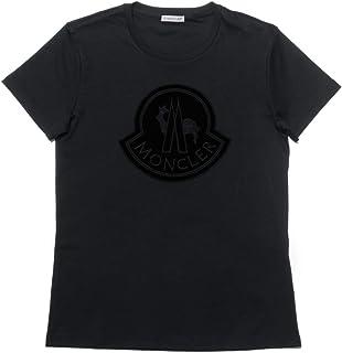 (モンクレール) MONCLER 半袖Tシャツ ブラック 8059200 8391N 999 [並行輸入品]