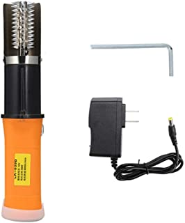 YWT Electric Fish Scale Cleaner Peeling Machine, Built in 12V Rechargeable Battery Descaling Rechargeable Waterproof Scraper Scales Cleaner