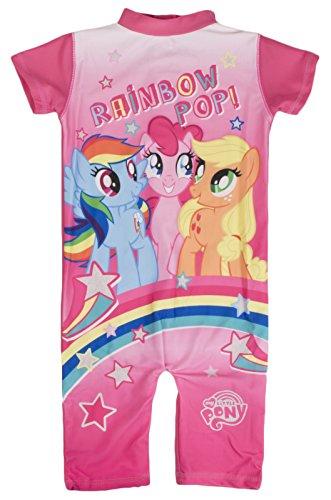 Lora Dora Mädchen Badeanzug rosa Belle Gr. 92, My Little Pony - Rainbow Pop!