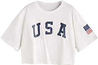 Best america crop top Reviews