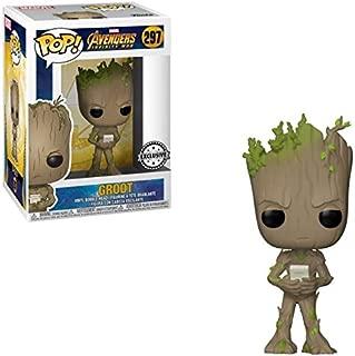 Funko Figurine Marvel - Avengers Infinity War - Teen Groot with Video Game Exclusive Pop 10cm - 0889698264709