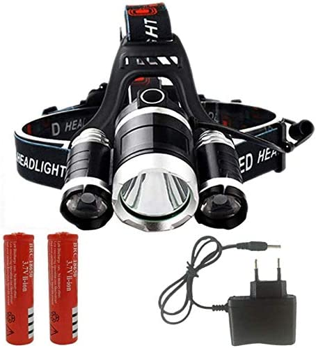 HUIZHANG Headlamp Special price for a limited time Most Powerful List price LED headlamp T6 Headlight 3