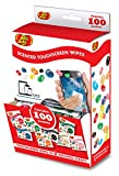 Jelly Belly Scented Alcohol Free Touchscreen Wipes for Mobile Devices and Eyewear (100 Wipes in Assorted Scents)