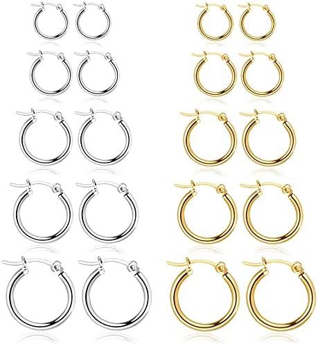 16mm hoop earrings _image3