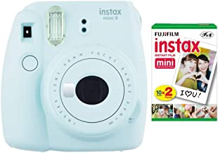 Fujifilm instax Mini 9 Instant Camera (Ice Blue) with...