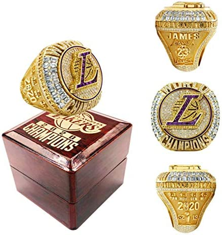 2020 Lakers Championship Ring 2020 Official Version Detachable Ring Replica Lebron LA Champions product image