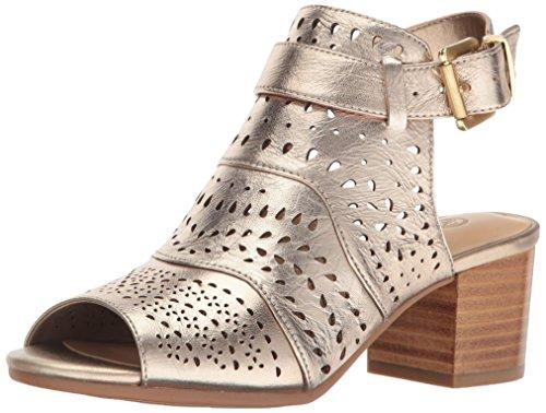 Bella Vita Women's Fonda Dress Sandal, Champagne, 9 M US
