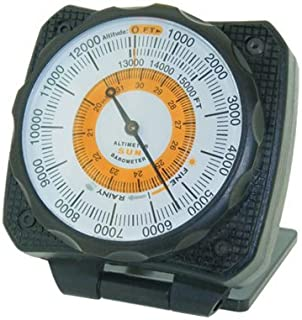 Sun Company AltiLINQ - Dashboard Altimeter and Barometer   Altimeter for Car and Truck   Reads Altitude from 0 to 15,000 Feet