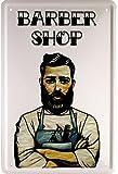 Barber Shop Peluquería 20x 30cm cartel de chapa 1637
