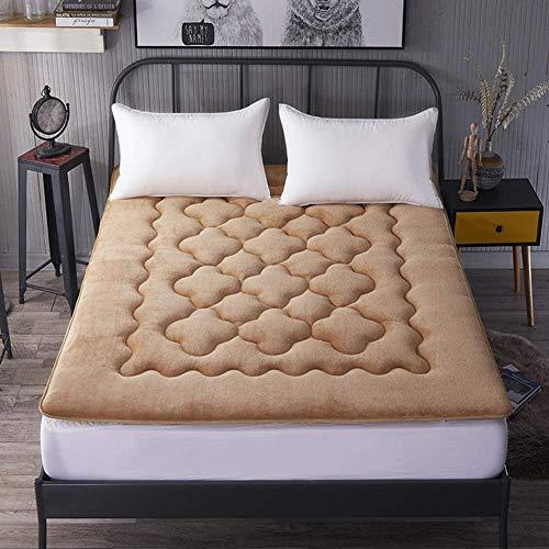 Tatami - Colchón de suelo plegable con acolchado suave y antiescaras para dormir, para dormitorio, dormitorio, 150 x 200 cm