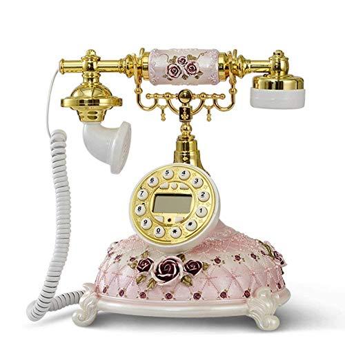 HYY-YY Retro Telefon Telefon antiken Jahrgang Wired Telefon Salon Kaffee Dekoration-A Retro Telefon