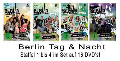 Berlin - Tag & Nacht, Vols. 1-4 Set: Folge 1-80 (16 DVDs)