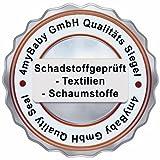 Best For Kids Kinderbettmatratze 80x160x14cm aus Frottee, Qualität nach Ökotex 100 - Standard und TÜV Gesteppte und Weiche Kindermatratze - 4