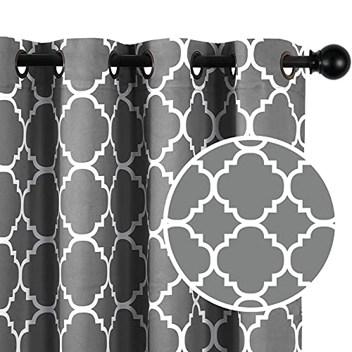 Blackout Curtains Energy Smart & Noise Blocking Out Blackout Drapes for Dining Room Window Kids...