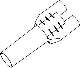 Lg MCD63147101 Drain Hose Connector Genuine Original Equipment Manufacturer (OEM) Part