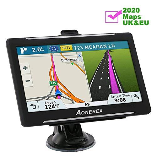 Aonerex Sat Nav for Car Truck Lorry 7 Inch 8GB 256MB GPS...