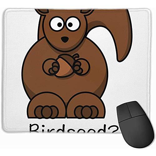 Welches Vogelfutter-lustiges Eichhörnchen verdickte Entwurfs-Spiel-Büro-Schreibtisch-Matten