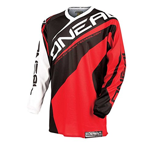 O'NEAL Oneal Element Racewear Jersey, Farbe rot, Größe L