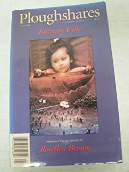 Intimate Exile Ploughshares Fall 1994 0933277113 Book Cover