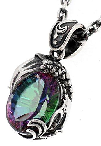 [ビザール] BIZARRE ムーンライズクロウ シルバー 925 ペンダントトップ (チェーンなし) メンズ 有名 ネックレス 水晶 爪