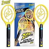 ZAP IT! Bug Zapper Twin Pack - Rechargeable Mosquito,...