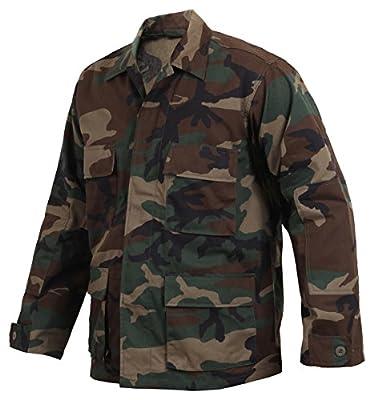 Woodland Camouflage BDU Shirt (X-Large)