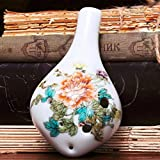 Ceramica in ceramica 6 fori Ocarina Flauto Zelda Alto C AC Ceramica Strumento musicale pro...