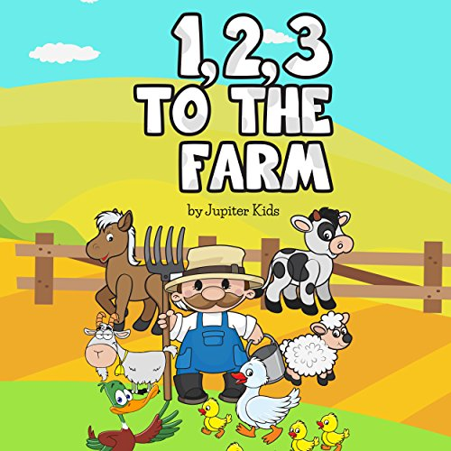 1, 2, 3 to the Farm audiobook cover art