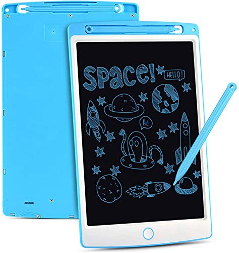 WOW Tastic W93480 LCD Drawing 10 INCH Kids Learning Tablet-Blue