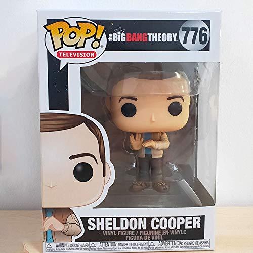 LiQi Funko Pop The Big Bang Theory Xie Er Sheldon Figure Ornamenti Sheldon Cooper 776#