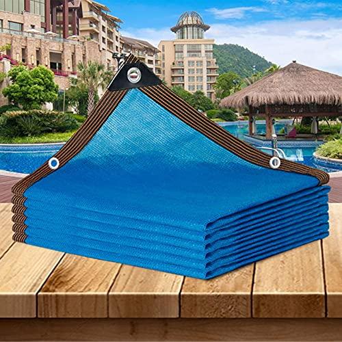 ZWYSL 85% Tasa De Sombreado Red De Tela para Sombra De Protección Solar para Balcón De Invernadero De Jardín, Red De Aislamiento Térmico con Ojales, Red Resistente A Los Rayos UV, (2 × 2 M)