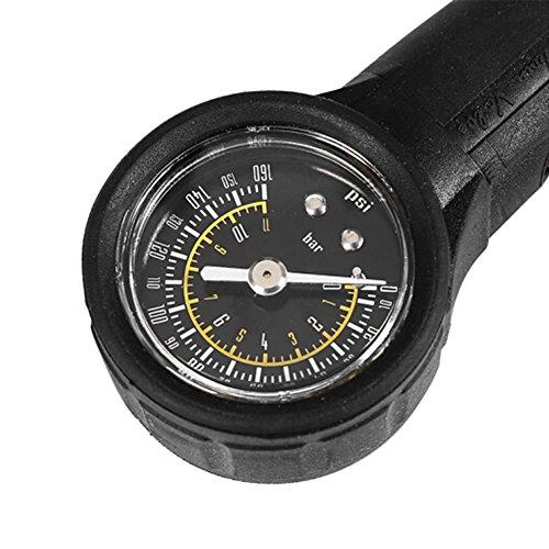 Extrbici MTB Reifendruckmesser für Presta und Schrader Fahrräder.