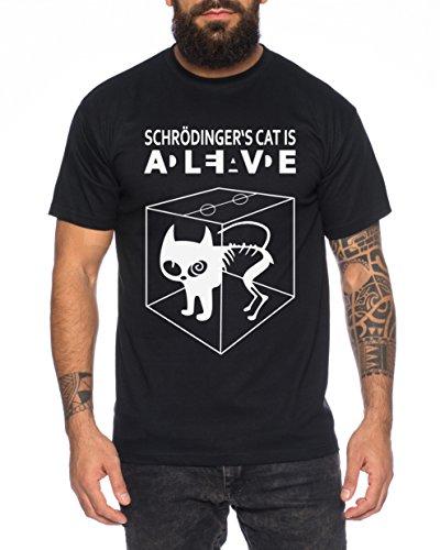 Schroedingers Katze Sheldon Nerd Herren T-Shirt