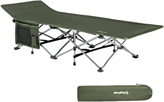 collapsible camp bed