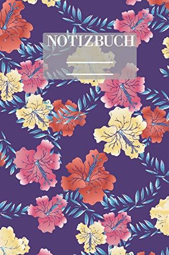 Notizbuch Garten Muster Pattern Pflanzen...