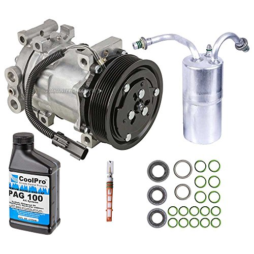 AC Compressor & A/C Repair Kit For Dodge Ram w/Gas Engine 1994 1995 1996 1997 1998 1999 2000 2001 - BuyAutoParts 60-80118RK New