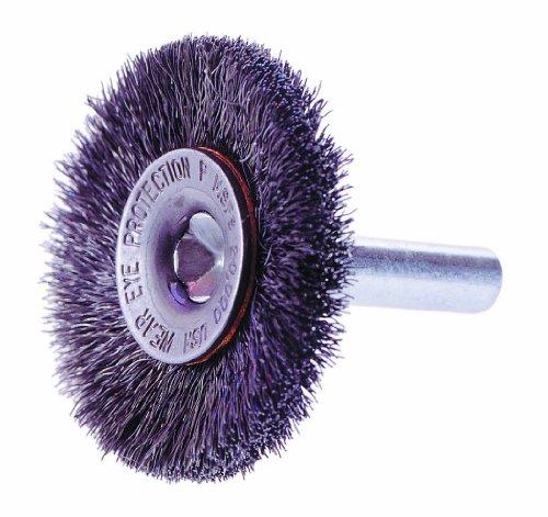 10 Overall Length 1-1//16 Brush Area Length 4-3//4 Brush Area Length 2 Pack 0.014 Fill Diameter Osborn International 83003SP Economy Shoe Handle Steel Wire Scratch Brush