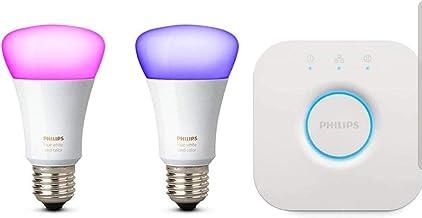 مصباح LED أبيض من فيليبس هيو متوافق مع أمازون أليكسا (إيكو دوت)