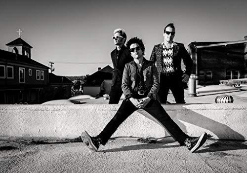 Desconocido Green Day Revolution - Póster de Radio con Texto en inglés American Idiot 23
