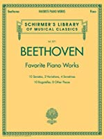 Beethoven: Favorite Piano Works (Schirmer's Library of Musical Classics)