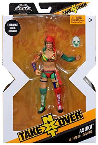 WWE Mattel Nxt Takeover Elite Figura de Acción Asuka con Entrada Gear