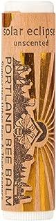 Portland Bee Balm Solar Eclipse All Natural Handmade Beeswax Based SPF 15 Lip Balm, Single Tube
