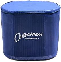 Black Outerwear Prefilter Without Top Round 2 Diameter 10-1132-01