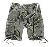 Surplus Herren Airborne Vintage Cargo Shorts, Oliv, Gr. XL