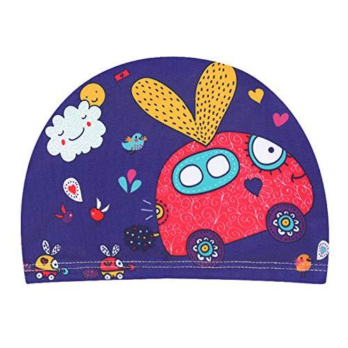 Dreafly Impresión de Gorro de natación diseñado para niños y niñas de 2 a 5 años Adecuado para...