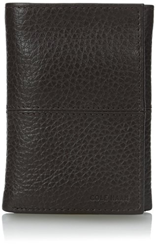 Cole Haan Men's Trifold, Chocolate, One Size